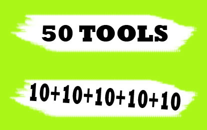 50 Tools for Digital Marketers, Graphics, Teachers, Students and Developers